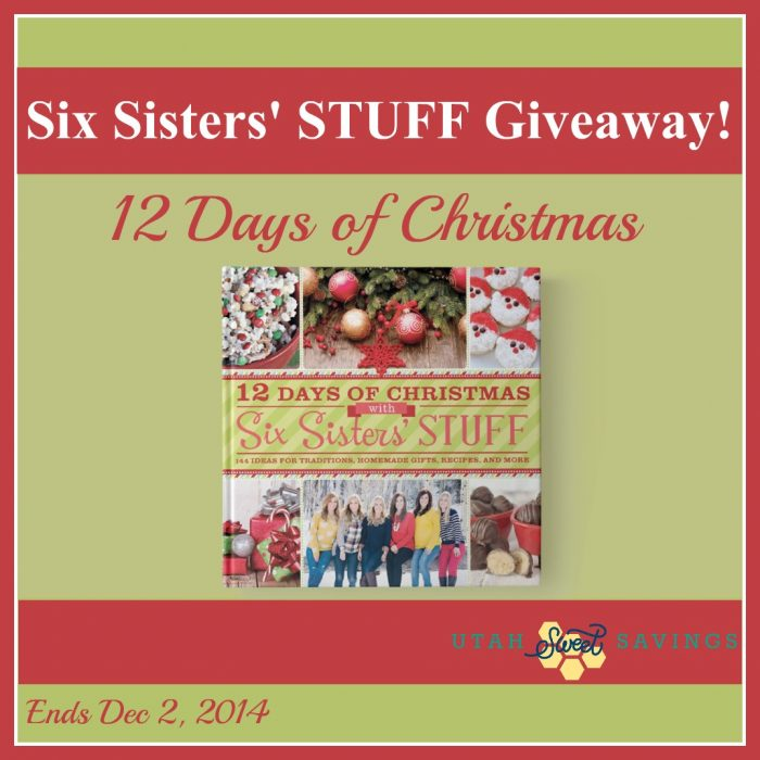 Six Sisters Stuff Giveaway Updated
