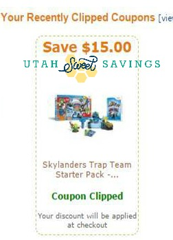 Skylanders Coupon Amazon Utah Sweet Savings