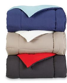 The Great Find Down Alternative Reversible Comforter colors