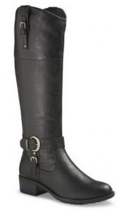 Women's Tall Riding Boots - Black