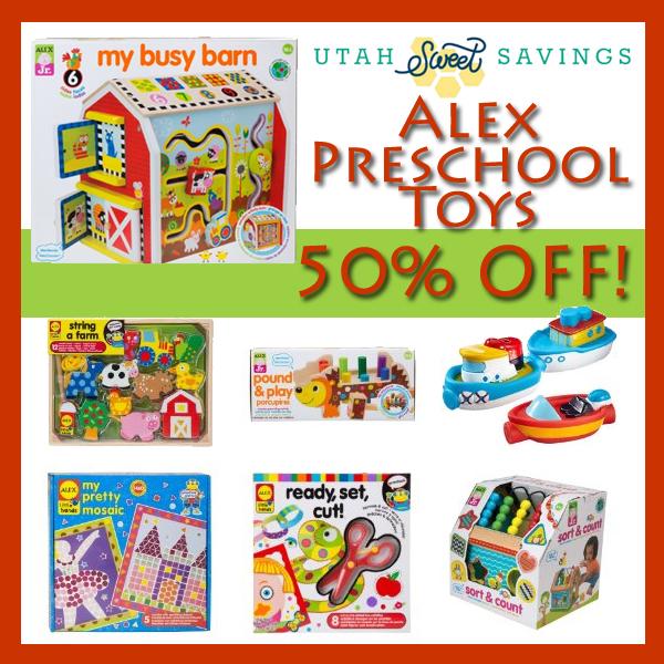 alex preschool toys