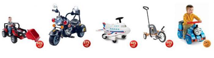 amazon 50 off ride on toys