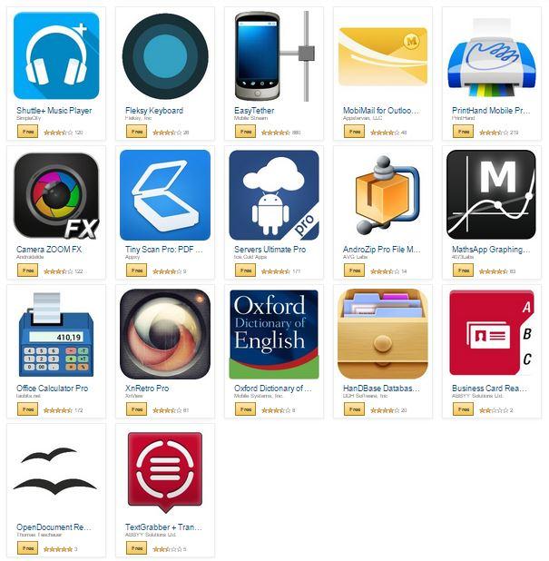 amazon free apps $80