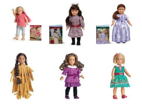 american girl mini doll and book