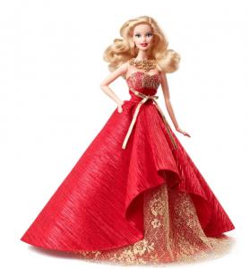 barbie christmas 2014 doll