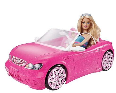 barbie glam convertible car reg utah. Black Bedroom Furniture Sets. Home Design Ideas