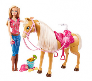 barbie tawny and horse