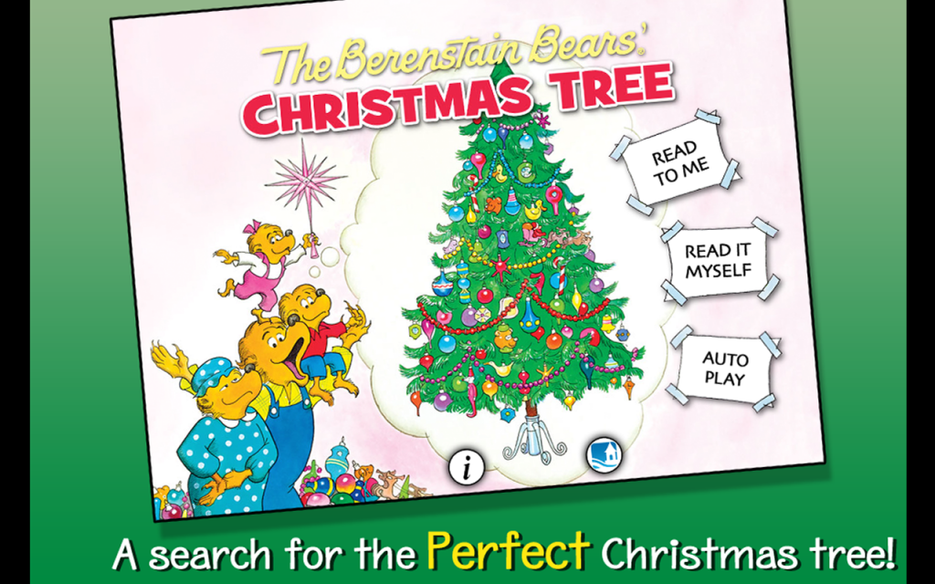 berenstain bears christmas tree app