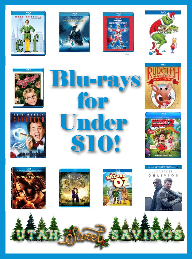 blu-rays for $10