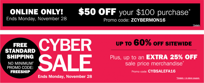 *HOT* Bon-Ton Cyber Monday Sale Has Started! Free Shipping ...