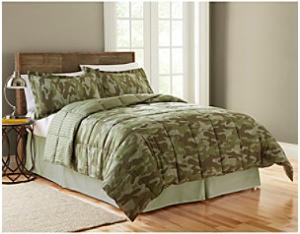 camo bed