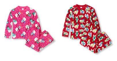 childrens place micro fleece pjs
