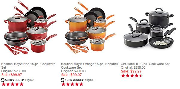 cookware sets rachael ray