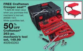 craftsman creeper