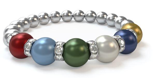 custom mothers pearl bracelet