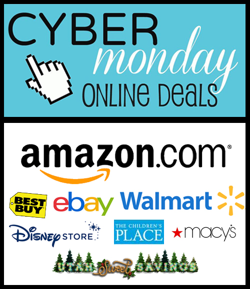 cyber monday starts now huge roundup of store deals utah sweet savings. Black Bedroom Furniture Sets. Home Design Ideas