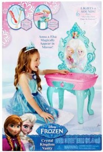 disney frozen vanity box