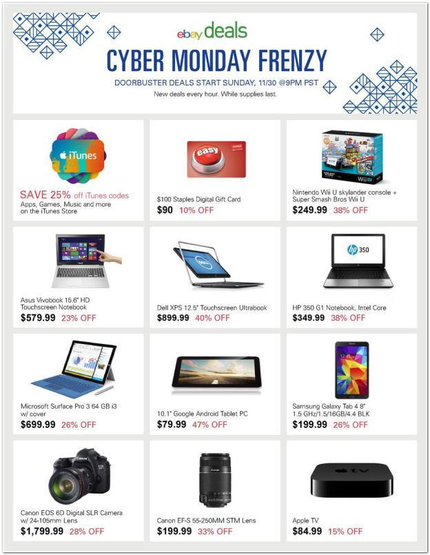 ebay-cyber-monday-2014-teaser-flier