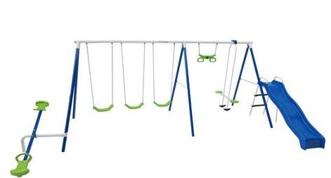 flexable flyer swing set