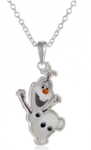 frozen olaf necklace