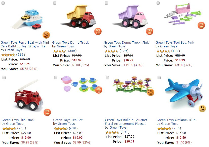 green toys buy 1 get 1