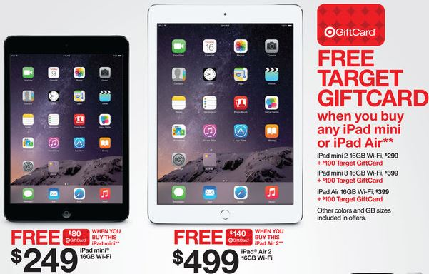 ipads Target Black Friday Ad Released! *Check Out Whats HOT!*