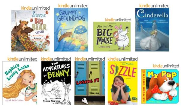 kindle kids $1 books