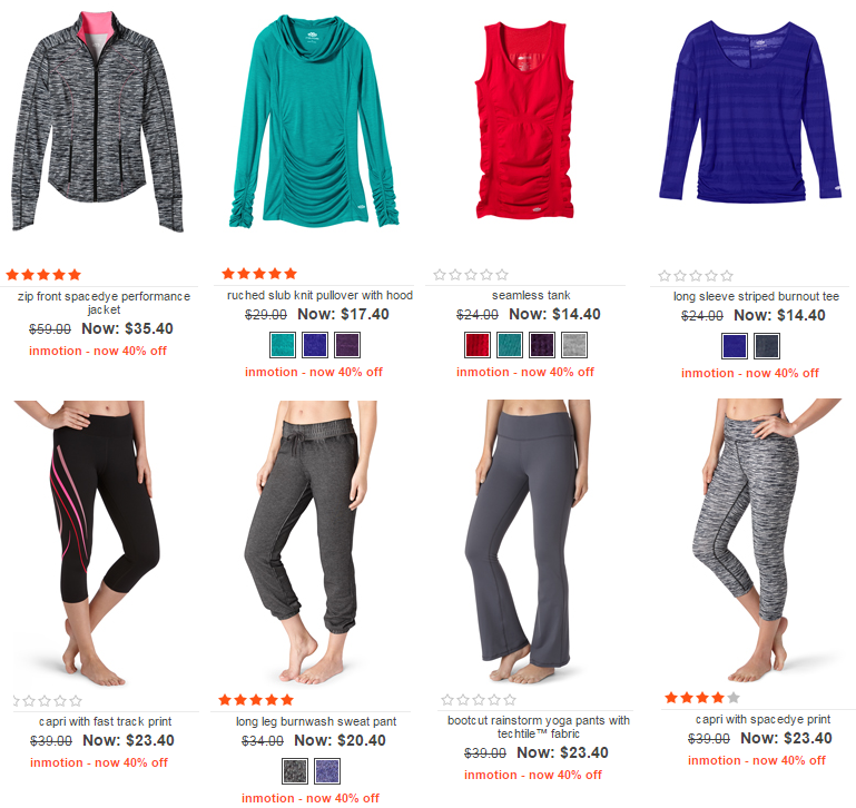 maurices activewear