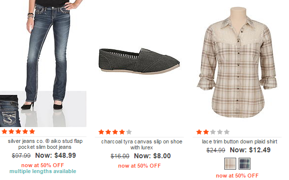 maurices markdowns