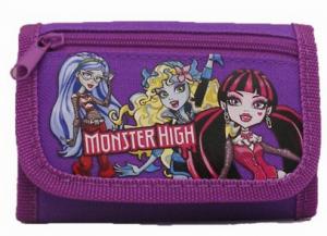 monster high purple wallet