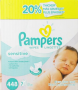 pamper wipe