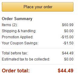pampers order total