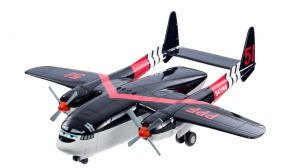 planes fire and rescue dusty black