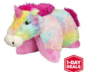 rainbow pillow pet