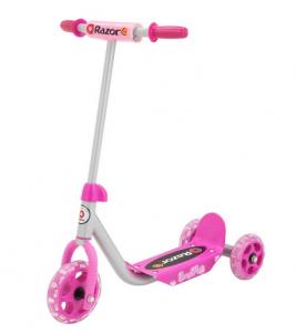 razor pink lil kicks