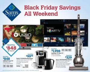 sams club black friday ad
