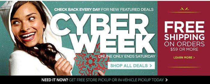 sears cyber week