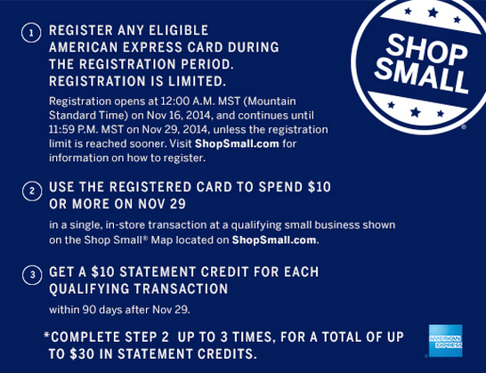 Small Business Saay! Get Free $30 With American Express ... on map games, map jewelry, map books, map services,