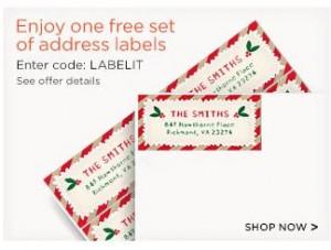 shutterfly free labels