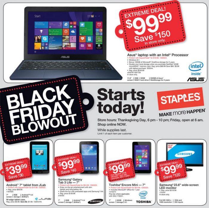 staples black friday ad1 Staples Black Friday Ad! *Top Deals!*