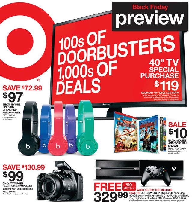 target black friday Target Black Friday Ad Released! *Check Out Whats HOT!*
