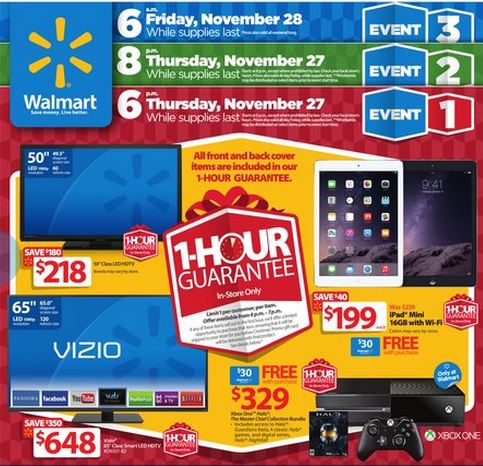 walmart black friday ad Walmart Black Friday Ad! *Check Out The Highlights!*