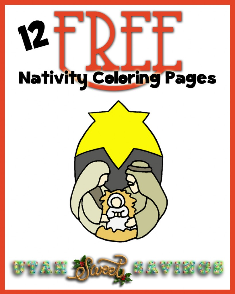 12 free nativity coloring pages copy