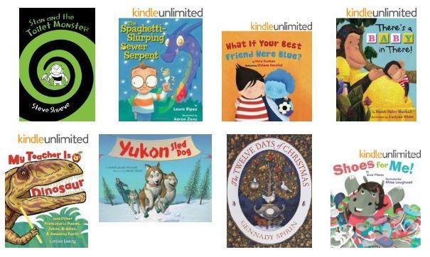 25 kindle kids ebooks december