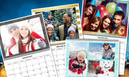 3 or 6 Custom Calendars from Staples groupon deal