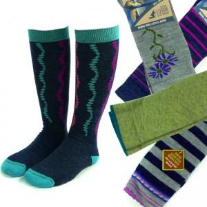 4 Pairs of Assorted Women's Merino Wool Socks