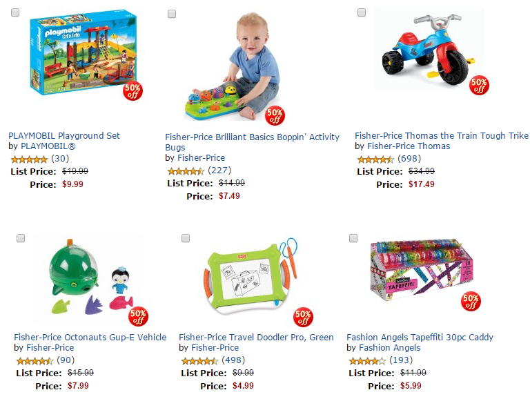 50 off toys