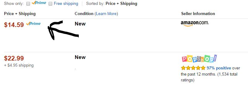 Amazon amount