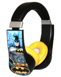 Batman Kid Safe Over the Ear Headphone Volume Limiter