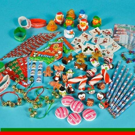 Christmas Stocking Stuffers Assortment - 50 Pieces